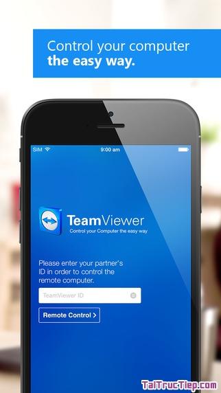 Hình 3 - Tải Teamviewer - Phần mềm điều khiển máy tính từ xa cho iPhone, iPad