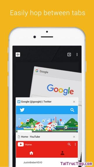 Hình 4 - Tải Chrome - Ứng dụng lướt Web tốc độ cao cho iPhone, iPad
