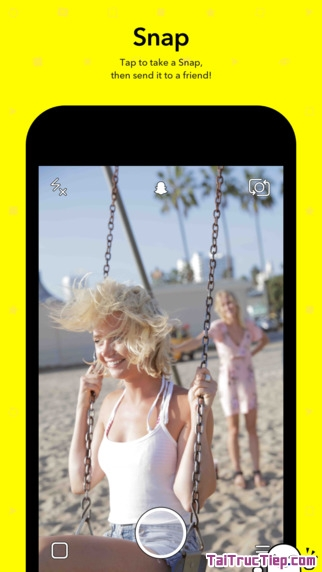 Hình 2 - Tải Snapchat - Ứng dụng chat video & hình ảnh cho iPhone, iPad