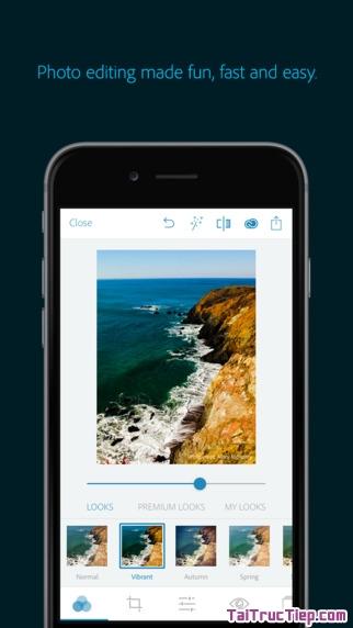 Hình 2 - Tải ứng dụng chỉnh sửa hình ảnh Adobe Photoshop Express cho iPhone, iPad