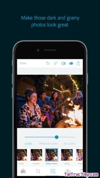 Hình 3 - Tải ứng dụng chỉnh sửa hình ảnh Adobe Photoshop Express cho iPhone, iPad