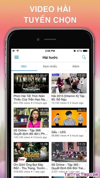 Hình 4 - Tải VietTV - Phần mềm nghe radio, xem tivi cho iPhone, iPad