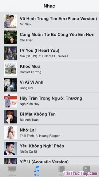 Hình 3 - Tải VietNam TV - Phần mềm xem phim, xem tivi cho iPhone, iPad