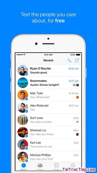 Hình 2 - Tải Messenger - Ứng dụng nhận và gửi tin nhắn cho iPhone, iPad