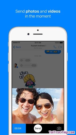 Hình 3 - Tải Messenger - Ứng dụng nhận và gửi tin nhắn cho iPhone, iPad