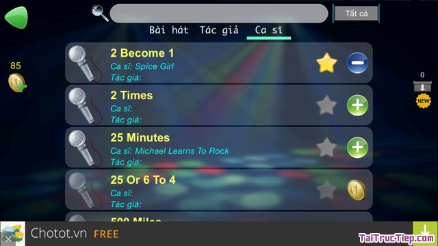 Hình 4 - Tải VietKara Hát Karaoke - Ứng dụng hát karaoke cho iPad, iPhone