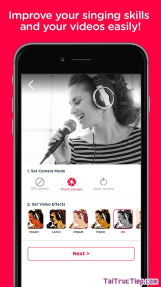 Hình 3 - Tải Red Karaoke - Ứng dụng hát karaoke cho iPhone, iPad