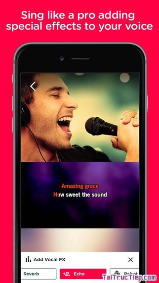 Hình 4 - Tải Red Karaoke - Ứng dụng hát karaoke cho iPhone, iPad