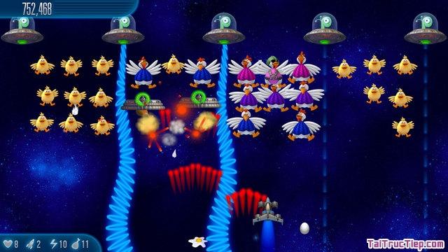 Hình 2 - Tải Chicken Invaders 5 - Trò chơi bắn gà cho iPhone, iPad