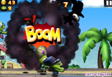 Hình 4 Tải trò chơi Zombie Tsunami cho Windows Phone