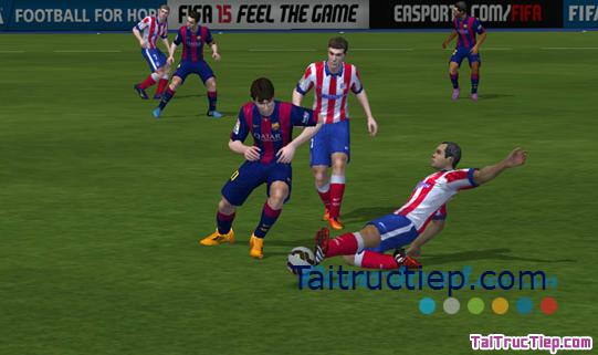 Hình 2 Tải trò chơi FIFA 15 Ultimate Team cho Windows Phone