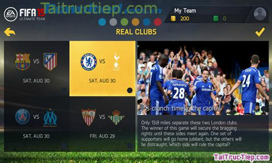 Hình 7 Tải trò chơi FIFA 15 Ultimate Team cho Windows Phone