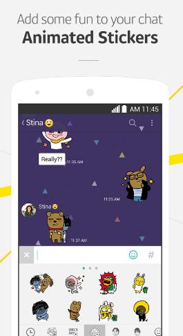 Hình 5 Tải KakaoTalk - Phần mềm gọi điện, chat free cho Android