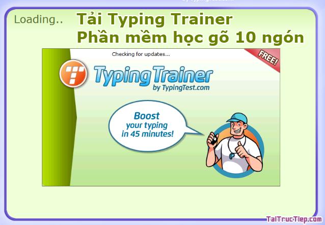 Tải Typing Trainer - Phần mềm học gõ 10 ngón + Hình 2