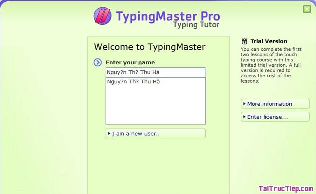 Tải Typing Trainer - Phần mềm học gõ 10 ngón + Hình 3