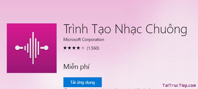 Tải chương trình tạo nhạc chuông cho Windows Phone