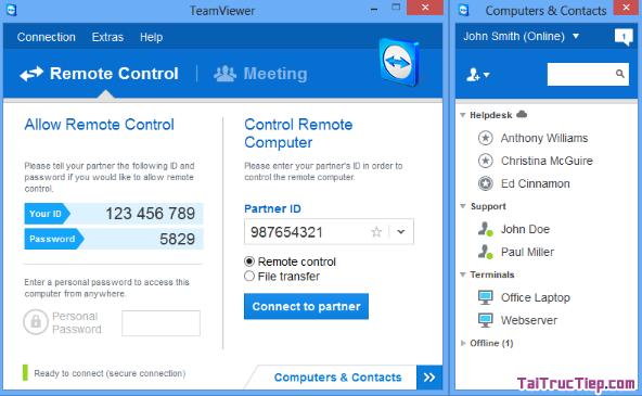 Tải TeamViewer - Trình theo dõi máy tính từ xa cho Windows + Hình 4