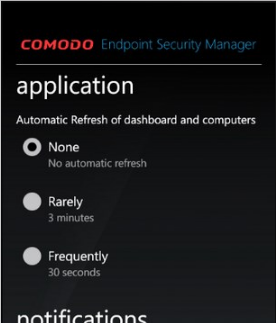 Tải cài đặt Comodo Endpoint Security Manager cho Windows Phone + Hình 3
