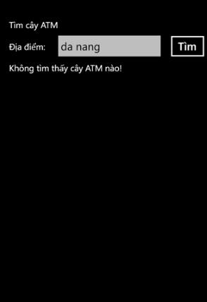 Tải phần mềm Tìm cây ATM cho Windows Phone + Hình 4