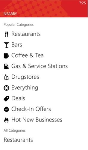 Tải Yelp - Ứng dụng tìm kiếm địa chỉ cho Windows Phone + Hình 5