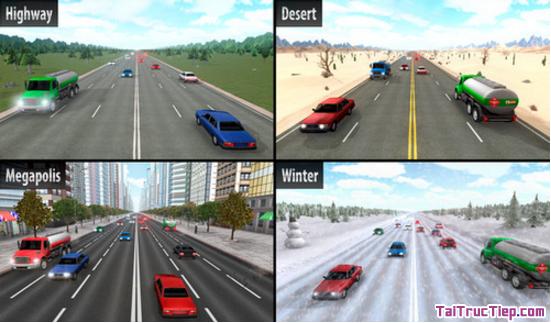 Tải trò chơi đua xe Highway Racer cho Android + Hình 2