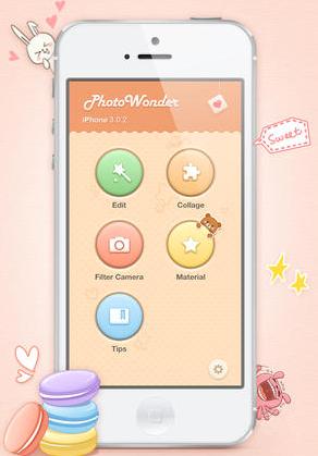 Hướng dẫn tải và cài đặt ứng dụng chỉnh sửa ảnh PHOTO WONDER cho iPhone + Hình 2