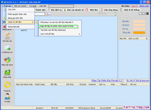 Tải và Cài đặt NETCAFE - Công cụ quản lý phòng máy chơi game + Hình 2