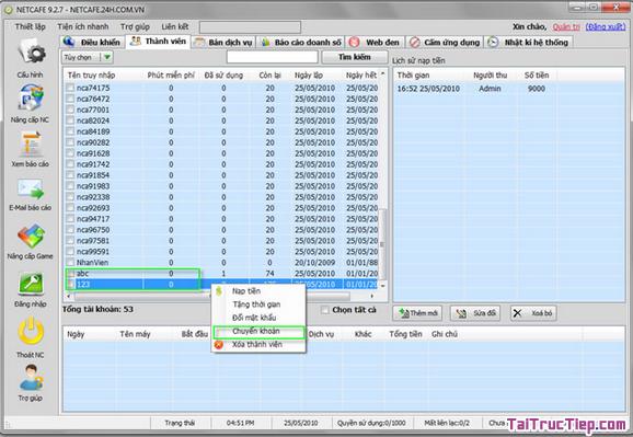 Tải và Cài đặt NETCAFE - Công cụ quản lý phòng máy chơi game + Hình 3