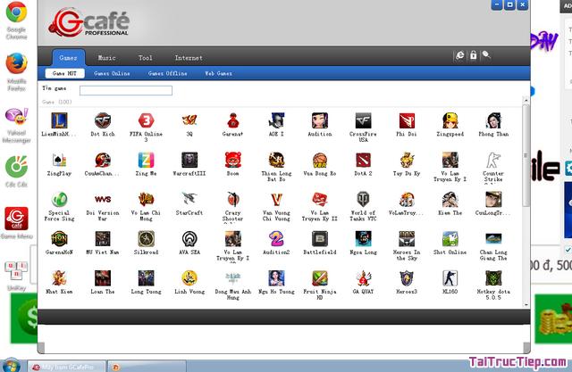 Tải cài đặt GCafe Plus - Trình quản lý quán chát cho Windows + Hình 2