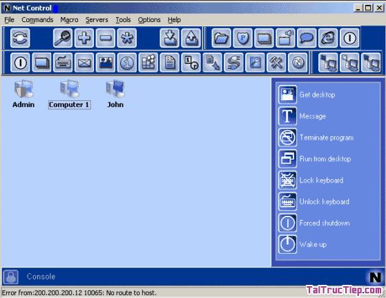 Tải NET CONTROL - Trình điều khiển phòng máy tính cho Windows + Hình 2