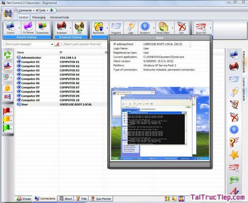 Tải NET CONTROL - Trình điều khiển phòng máy tính cho Windows + Hình 3