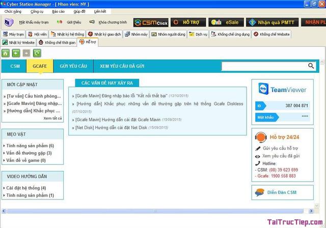 Tải Cyber Station Manager - Phần mềm quản lý phòng máy chơi game + Hình 2
