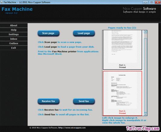 Tải Fax Machine - Phần mềm gửi Fax từ máy tính Windows + Hình 4
