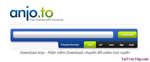 Tải Anjo.to - Phần mềm chuyển đổi Video trực tuyến cho Windows + Hình 2