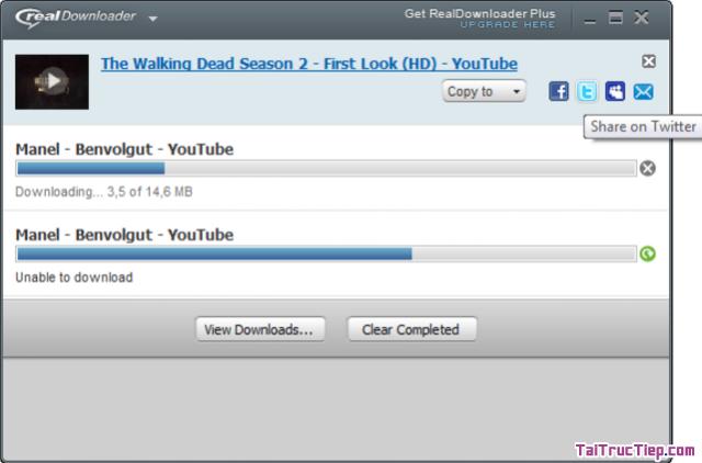 Tải RealDownloader - Phần mềm download video trực tuyến cho Windows + Hình 2