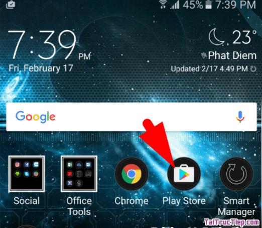 Hướng dẫn tải và cài đặt game Phục Kích cho điện thoại cài Android + Hình 6